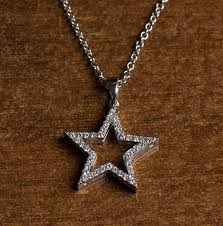 diamond star necklace images Diamonds star pendant 18k white gold and diamond necklace jpg