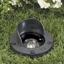 In Ground Landscape Lighting Vista Outdoor Lighting Black 20w Mr16 Flood Low Voltage In Ground