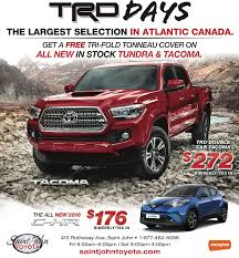 Trd Canada Toyota Trd Truck Days Are Back Save Big Saint John Toyota