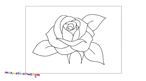 easy way to draw a flower drawing sketches arts