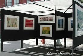 display art selling photography at art shows
