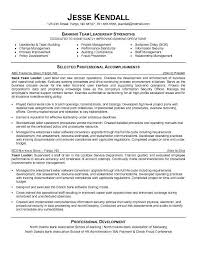 Sample Resume For Recruiter Position by Download Sample Resume For Leadership Position