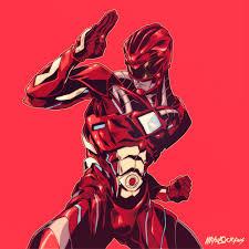 red ranger behance
