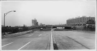 Impressive Vintage Nuance Construction Of The Mass Pike Extension By The B U Bridge 1965