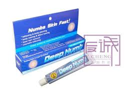 cosmetic tattoo numbing cream blue permanent makeup pain relief deep numb tattoo anesthetic cream
