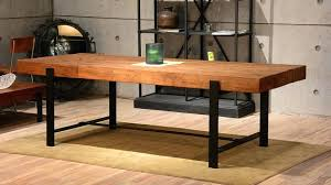 Diy Industrial Dining Room Table Dining Table Rustic Dining Table In Modern Home Contemporary