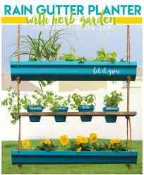 awesome things to make with rain gutters a and a glue gun