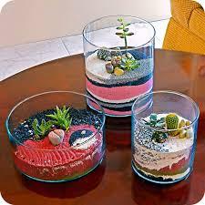sand terrarium succulent terrarium plant gift ideas cool home
