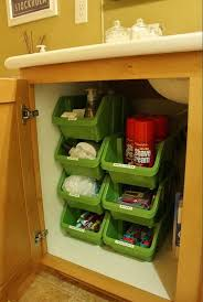 Cabinet For Kitchen Sink Organizing On The Cheap Dollar Tree Bins Use For Under The