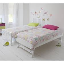 Trundle Bed For Girls Bedding Cute White Trundle Bed Dt 103w 2jpg1463822417 White