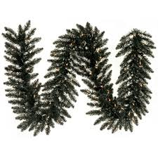 Halloween Tinsel Garland by Christmas Decorations Garland Colorful Christmastopia Com