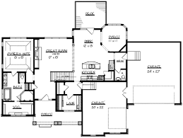 Home Plans With Safe Rooms | ranch home plan with safe room 73296hs architectural designs