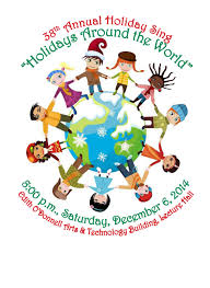 38th annual sing holidays around the world school of