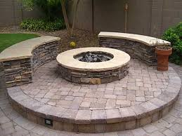 Flagstone Firepit 12 Pit Designs For Your Backyard Its Personality