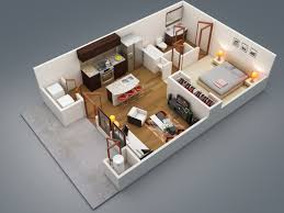 One Bedroom Pleasing One Bedroom Design Home Design Ideas - One bedroom designs