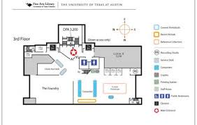 floor plan picture fine arts library floor plan university of texas libraries the