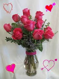 hot pink roses beautiful one dozen hot pink roses for s delivery