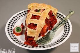 scary cherry eye pie