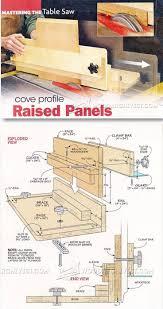 Cabinet Door Construction Raised Panels On Table Saw Cabinet Door Construction Techniques