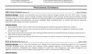 Marketing Manager Resume Commercial Operations Manager Sample Resume Free Download Click