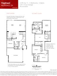 4 Bedroom Open Floor Plan Avery Pointe Townhomes In San Diego From The 600 000s