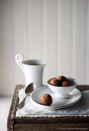 chinese five spice chocolate truffles with crystallized ginger