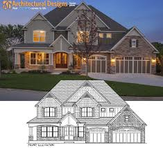 architecturaldesigns com plan 73330hs craftsman with amazing great room perfect match
