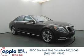 mercedes dealers in maryland used mercedes s class for sale in baltimore md edmunds