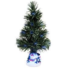 mini christmas tree with lights evelots mini christmas tree fiber optics artificial with led and
