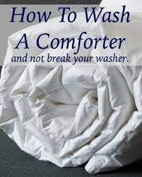 Washer Capacity For Queen Size Comforter How To Wash Comforters Home Ec 101