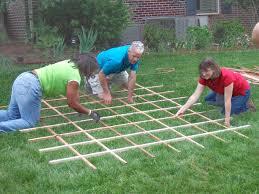 simple garden trellis plans home outdoor decoration