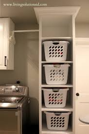 Pinterest Laundry Room Decor by Laundry Room Trendy Built In Laundry Hamper Ideas White Finish