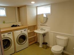 laundry in bathroom ideas basement bathroom laundry room ideas at home design ideas