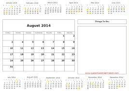 27 best august 2014 calendar images on pinterest printable