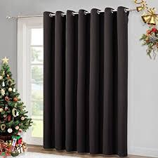 Insulated Patio Doors Wide Width Patio Doors Blinds Thermal Blackout Patio