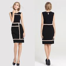 fashion womens slimming design office work dress prom pencil
