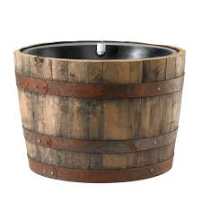 commercial grade self watering planter insert whiskey barrel insert