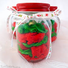 Decorated Jars For Christmas Christmas Cupcake In A Jar Two Sisters Crafting