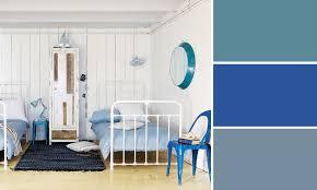 couleur bleu chambre quelles couleurs se marient avec le bleu