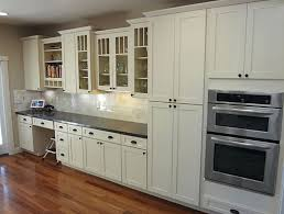 White Painted Cabinets With Glaze by Kitchen White Kitchen Paint Kitchen Wall Cabinets Glazed Kitchen