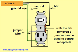 wiring a light switch and outlet together diagram lovely outlet switch combo wiring diagram images electrical