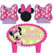 minnie mouse birthday party supplies theme party packs