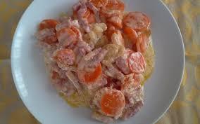 cuisiner des carottes la poele recette poêlée de carottes pas chère et simple cuisine étudiant