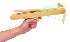 construct a fun powerful rubber band crossbow make