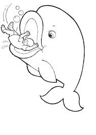 Printable Jonah Whale Coloring Pages Coloring