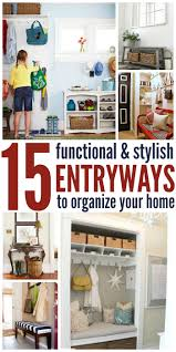 ideas for a functional and stylish entryway