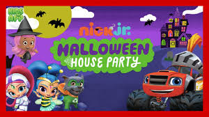blaze and the monster machines paw patrol halloween house