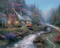 twilight cottage the kinkade company