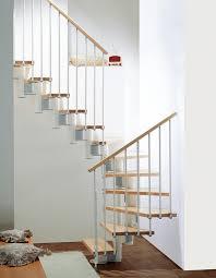 U Stairs Design Kompact Adjustable Staircase Kit Metal Steel And Wood Spiral