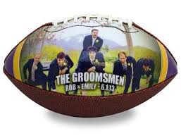 engraved football gifts personalized football groomsmen gifts sports favors from make a